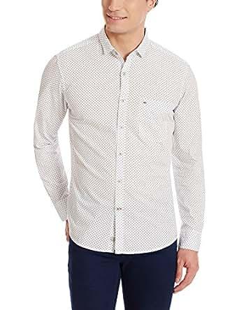 Indigo Nation Men's Casual Shirt (8907372651859_1ISE437240_40_White)