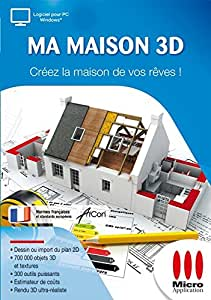 ma maison 3d logiciels. Black Bedroom Furniture Sets. Home Design Ideas