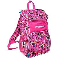 Sambro 8745 Lego Movie 2-Large Girls AOP Multipanel Backpack, Multi Colour