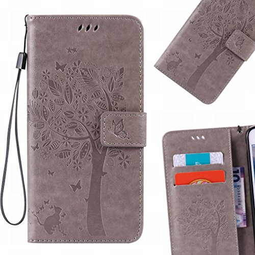 lemorry-sony-xperia-xa-ultra-funda-estuches-pluma-repujado-cuero-flip-billetera-bolsa-piel-slim-bump