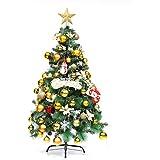 Luckywing Weihnachtsbaum Künstlich Grünen Tannennadeln Weihnachtsbaum  Weihnachten Dekorationen Entflammbar Tannenbaum Christbaum Weihnachtsdeko  Grün Mit ...