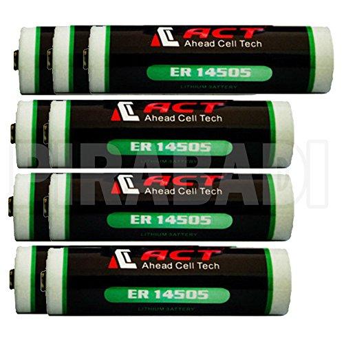 Galleria fotografica 9batteria litio 3.6V AA ER14505LS14500er14505h Li-SOCl22700mAh batteria ACCU
