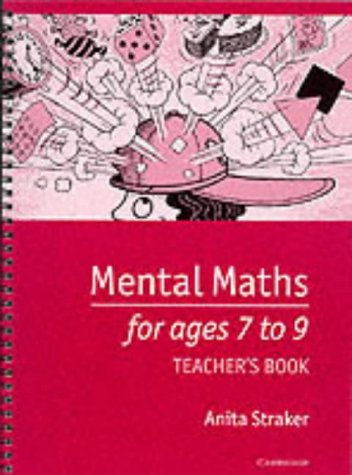 Mental Maths for Ages 7 to 9 Teacher's book
