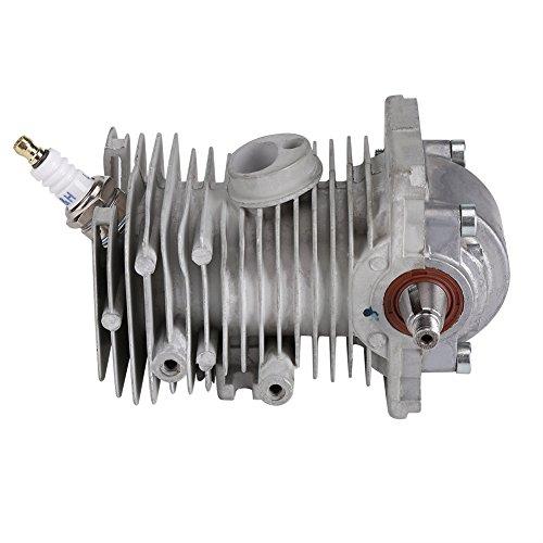 Zerodis 38 millimetri cilindro pistone albero motore padella candela ricostruzione assemblaggio adatto per motosega STIHL MS170 MS180 018