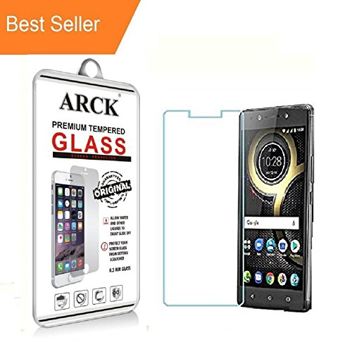 Lenovo K8 Note Tempered Glass Screen Protector 9H Curved Full Coverage by ARCK®-Eco Series  available at amazon for Rs.79