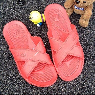 zhENfu Unisex pantofole & amp; flip-flops Primavera / Estate / Autunno Comfort materiali personalizzati Casual tacco piatto Dark Blue