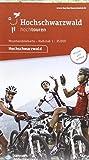 Hochtouren MTB-Karte Hochschwarzwald: Maßstab 1:35000, wasser-und reissfest mit 13 Tourenkärtchen