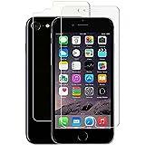 iPhone 7 - 2 Films (1 avant + 1 arrière) en verre trempé résistant et fin - NOVAGO®