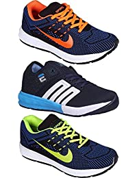 Ethics Best Combo Pack Of 3 Premium Sport Shoes For Men