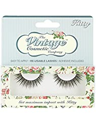 The Vintage Cosmetic Company False Strip Lashes, Kitty