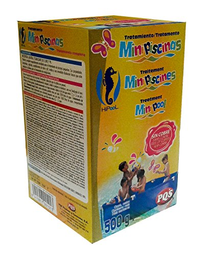 PQS - 1616027 Kit mini piscina mantenimiento 500 gr