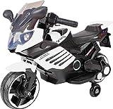 Ultimar Véhicule électrique pour Enfants Moto électrique (Blanc)