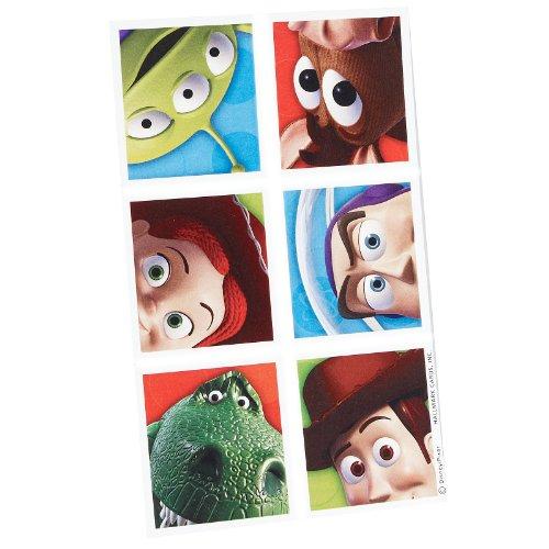 Toy Story 3 Sticker Sheets (4 - Story 4k Toy