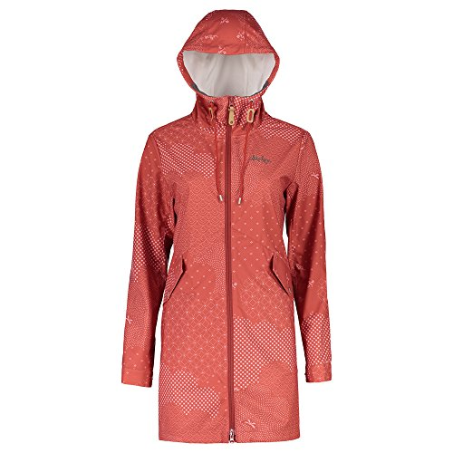 Maloja strettam. Technische Jacke, Damen L rot (maple leaf) (Maple Leaf Jacke)