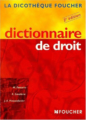 Dictionnaire de droit, 2e édition