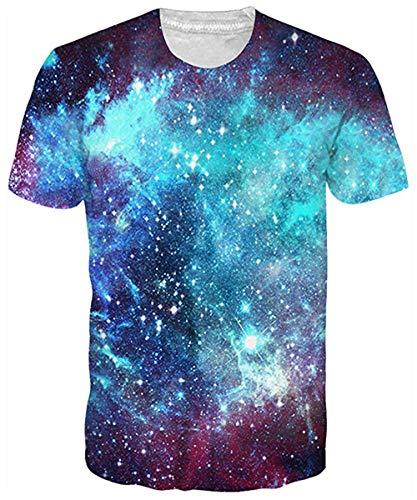 uideazone Männer Wolf-T-Shirt Coole Grafik-Tee