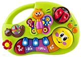 Wishtime Musicale per Bambini, Centro attività con brani Animal Sound Piano Note Color Recognition for Baby 6 Mesi +, Giocattolo Educativo Prima Infanzia