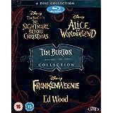 Tim Burton 4 Movie Collection