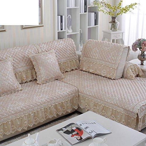 Sofa slipcover europeo,Fundas sofá antideslizante Tela Simple moderno Four seasons universal Cubre sofá de cuero sofá seccional sofá cubierta sofá cubierta completo-A 35x75cm(14x30inch)