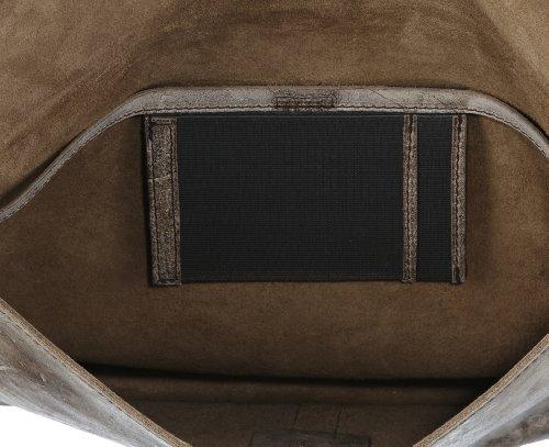 Bugatti Bags  Desert Collegemappe, Pochettes homme Beige - Beige (beige 50)