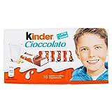 Kinder Barrette di Cioccolato al Latte - 16 Pezzi - [confezione da 5]