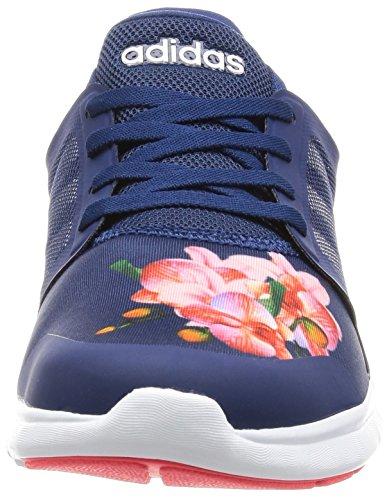 adidas Cloudfoam Xpression, Scarpe da Ginnastica Donna Blu (Mysblu/Ftwwht/Shored)