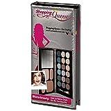 Shopping Queen, Winterbeauty Booklet Silber (1er Palette mit 18 Lidschatten, 2 Kompakt-Puder, 2 Rouge und ein Duo-Applikator + Spiegel)