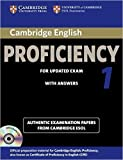 Cambridge English Proficiency 1 for Updated Exam Self-study Pack (Student's Book with Answers and Audio CDs (2)): Authentic Examination Papers from Cambridge ESOL (CPE Practice Tests) by Cambridge ESOL (2012-11-30)