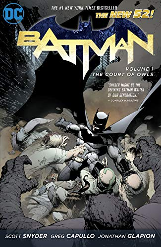 #1 New York Times Best Seller!Following his ground-breaking, critically acclaimed run on Detective Comics, writer Scott Snyder (American Vampire) alongside artist Greg Capullo (Spawn) begins a new era of The Dark Knight with the relaunch of Batman, a...
