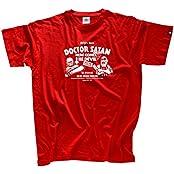 Shirtzshop Herren Cuba-Rda Che Guevara Tamara Bunke Ddr T-Shirt, Rot, XL