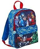 Marvel - Mochila de Viaje para niños y niñas, diseño de Los Vengadores, Azul (Azul) - MNCK8965