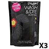 DYLON Wash & Dye - Velvet Black (3-PACK)