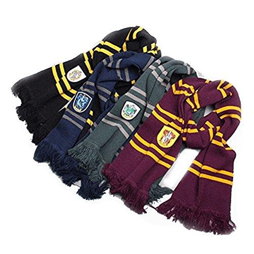 Harry Potter Inspired House Scarves
