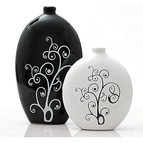 Loopsd vasellame di porcellana astratto moderno Artigianato creativo di arredamento