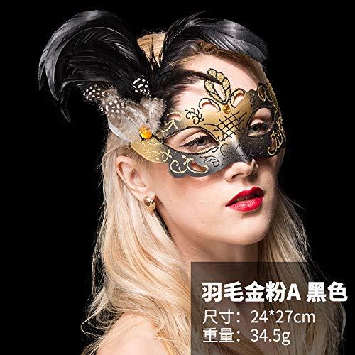 Weiblich Halloween Maske - Halloween Maske Weibliche Erwachsene Sexy Prinzessin