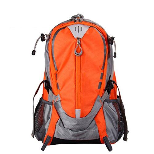 Yy.f Fahrrad Mode Rucksack Schulterbeutel Im Freien Reitbeutel Sporttasche Bergsteigen Taschen Urban Freizeit Multifunktionale Rucksack. Multicolor Orange