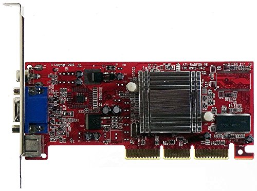 Computer Ati Radeon 7000 (AGP-Grafik Ati Radeon 7000 DDR TV-out S-V ID2519)