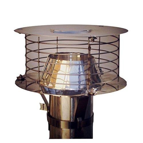 Aspirateur statique adaptable VARINOX Acier inoxydable diamètre : 167/200 Réf. 403003