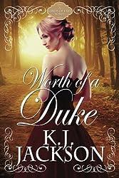 Worth of a Duke: A Lords of Fate Novel by K.J. Jackson (2015-07-02)