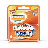 Gillette Fusion Power shaving Razor Blades  4s Pack Cartridge