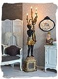 BAROCKE LAMPE STANDLEUCHTE VENEZIANISCHER MOHR DIENER RECHTS PALAZZO EXCLUSIV