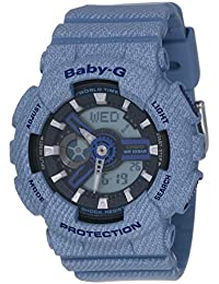 Casio Baby-G Analog-Digital Black Dial Women's Watch - B200 (BA-110DE-2A2DR)