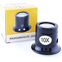 Lupa Ojo 10x, Lupa de Precisión para Relojero/Joyero con 10 Aumentos, Electrónica Rey®