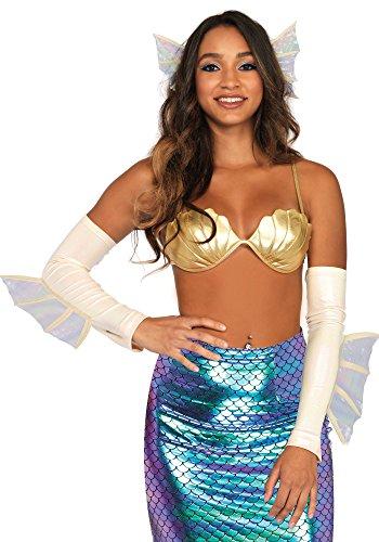LEG AVENUE A1538-2PC. Mermaid kit, Einheitsgröße (Creme)