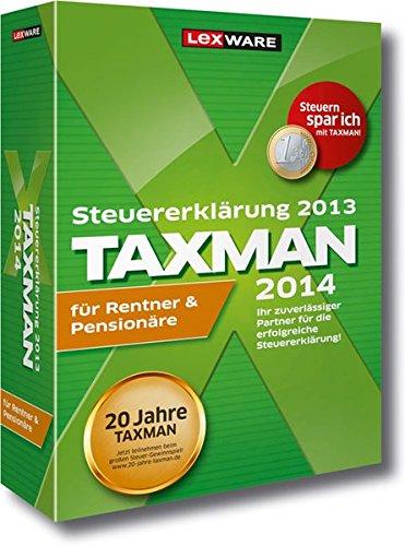 Taxman 2014  für Rentner und Pensionäre (Version 20.00)