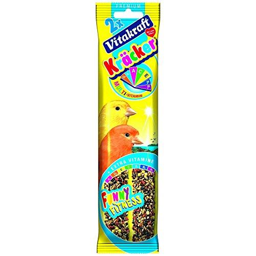 VITAKRAFT Kracker multivitamine canarini 2 pezzi - Snack uccelli