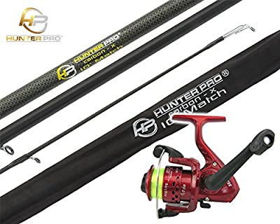 Hunter Pro® 10' Carbon-X Complete Beginners Starter Float Match Fishing Rod & SY200 Reel With Line Set from Hunter Pro