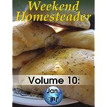 Weekend Homesteader: January (English Edition)
