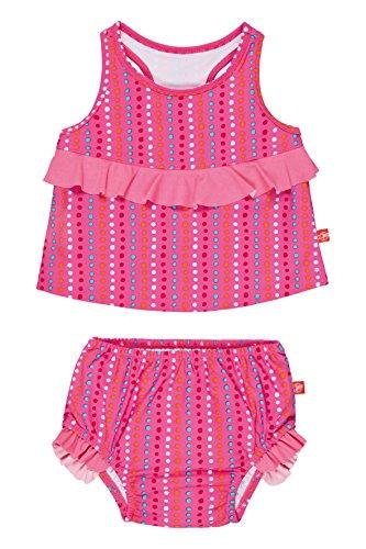 Lässig Splash & Fun 2 piece Tankini / Baby Badeanzug Set girls, XXL / 36 Monate, dottie lines (Dottie Mädchen)