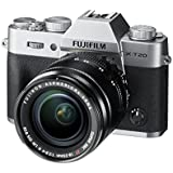 Fuji X-T20 24.3 MP 3-Inch LCD Camera with XF 18 - 55 mm Lens Kit - Silver